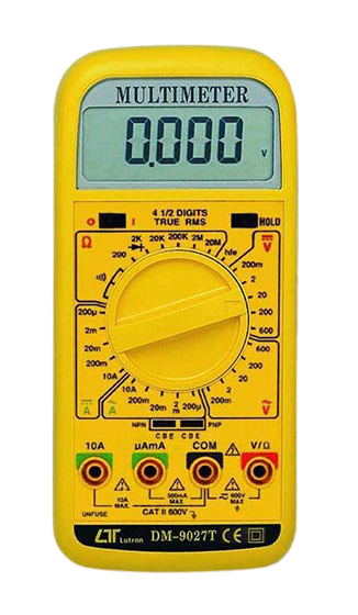 LUTRON DM-9027T 4 1/2 Digit Multimeter, true RMS