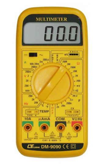 LUTRON DM-9090 3 1/2 Digits Multimeter, Multi-function