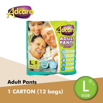 Adcare Adult Pants L Size (CARTON)