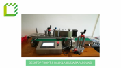 Desktop Front & Back Labels Wraparound Labelling Machine (Taiwan) Fully Automatic Labelling Machines  Packaging Machines