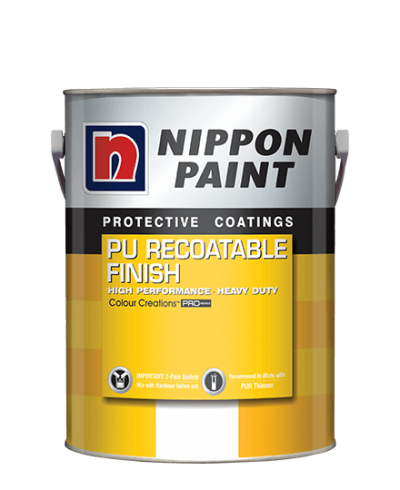 Nippon PU Recoatable Finish Interior & Exterior
