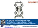 Air Operated Double Diaphragm Pump Saniflo Series WILDEN Pump