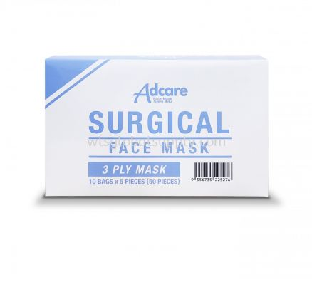 Adcare Surgical Face Mask 3PLY (50PCS)
