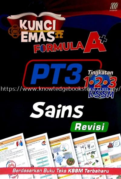 KUNCI EMAS FORMULA A+ PT3 SAINS (REVISI)