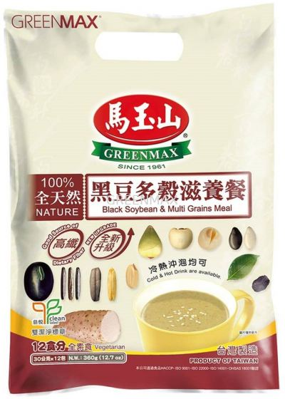 Black Soybean & Multi Grains Meal (12pkts) / 黑豆多穀滋養餐 (12入)