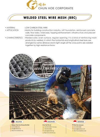 Welded Steel Wire Mesh (BRC)