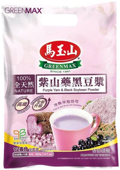 Purple Yam & Black Soybean Powder (12pkts) / ��ɽˎ�ڶ��{ (12�룩