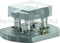 Modular system for direct workpiece clamping