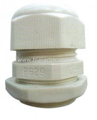 PG PVC Cable Gland - White