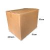BA202 - Medium Size Carton Box (51cmLx25.5cmWx33cmH/Double-Wall) Recycled / Used Carton Box Ready Made Boxes