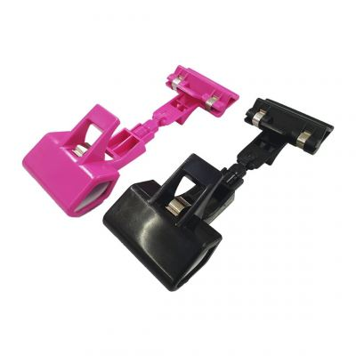 Price Tag Sign Clip Holder Stand