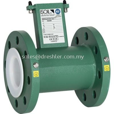 Flanged Type Magnetic Flowmeter - MS2500