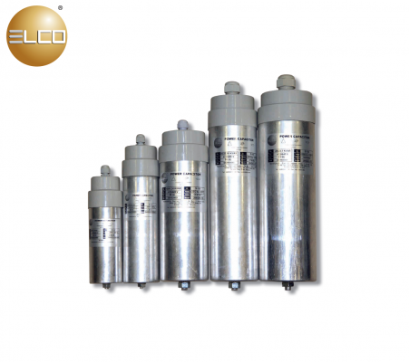ELCO Cylindrical-Type Power Capacitor 205 Series