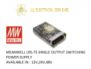 MEANWELL LRS-75 12V 6AMP SINGLE OUTPUT SWITCHING POWER SUPPLY MEANWELL