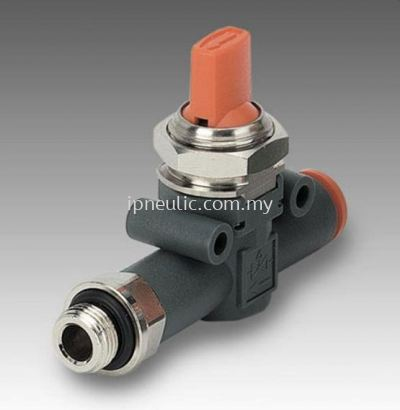 IN-LINE SHUT-OFF VALVE V3V L & V2V L-- V2V-V3V THREAD-PIPE