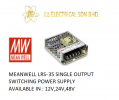 MEANWELL LRS-35 12V 3AMP SINGLE OUTPUT SWITCHING POWER SUPPLY Others
