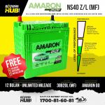 NS40ZL Amaron Go MF 38B20L Car battery Bateri kereta [ MYVI ALZA VIVA HONDA CITY JAZZ BRV ]