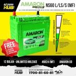 NS60S /L /LS Amaron Go Car battery Bateri kereta [ WIRA IRIZ SAGA BLM FLX FL PERSONA NEW ]