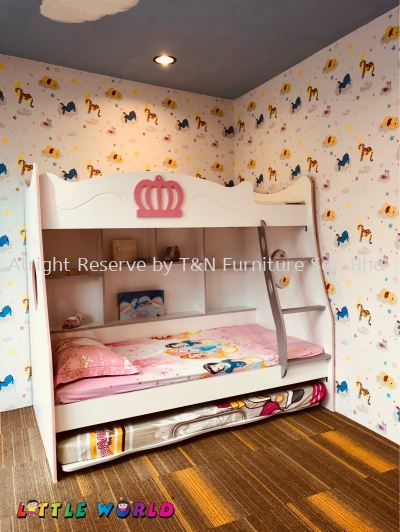 Little Queen Bunk Bed