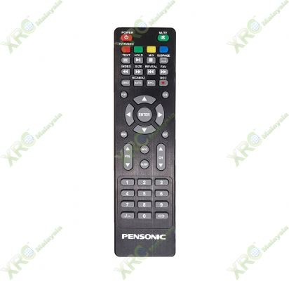 PLED-3211T PENSONIC LED TV REMOTE CONTROL