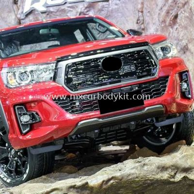 TOYOTA HILUX REVO 2016 ROCCO FRONT BUMPER WITH GRILLE