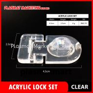 Acrylic Lock Set