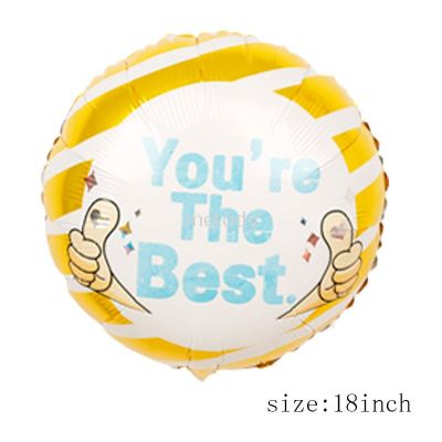 """Foil 18"""" You Are The Best"""