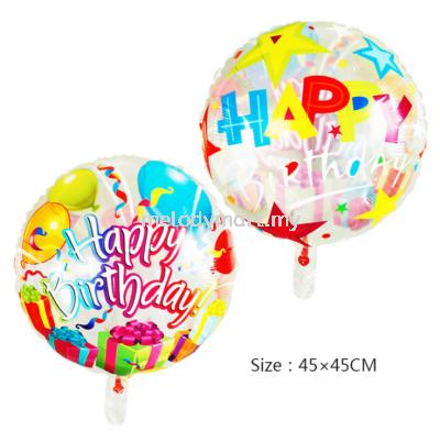 "Foil 18"" Birthday"