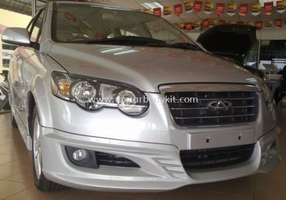 CHERY EASTAR 2009 AM DESIGN BODYKIT + SPOILER