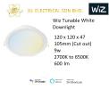 WIZ Tunable White Downlight 2700K to 6500K (9W) SMART LIGH-T Wiz SMART LIGHT