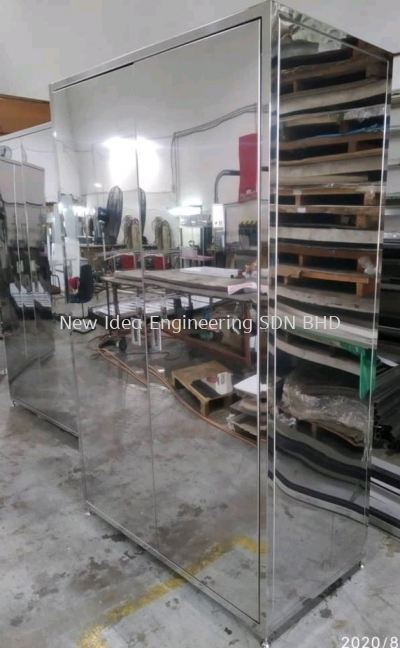 Stainless steel BA Smock cabinet