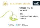 WIZ LED Strip Light 2m Starter Kit 2200K to 6500K + RGB (20W) SMART LIGHT  Wiz SMART LIGHT