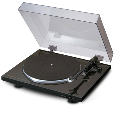 DENON DP 300F Fully Automatic Analog Turntable Vinyl will ship separately