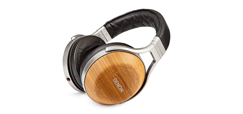 DENON  AH-D9200 Bamboo Over-Ear Premium Headphones