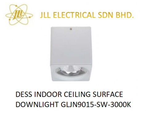 DESS INDOOR CEILING SURFACE DOWNLIGHT GLJN9015-SW-3000K