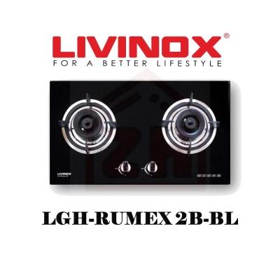 LIVINOX 2 Burner Gas Cooker Hob LGH-RUMEX 2B