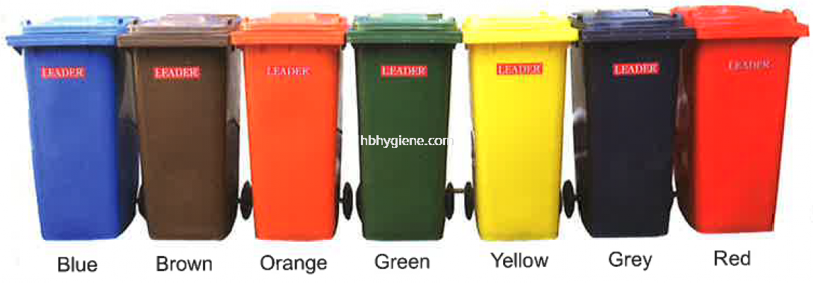 BP120 & BP240 (120lit & 240lit Mobile Garbage Bins)