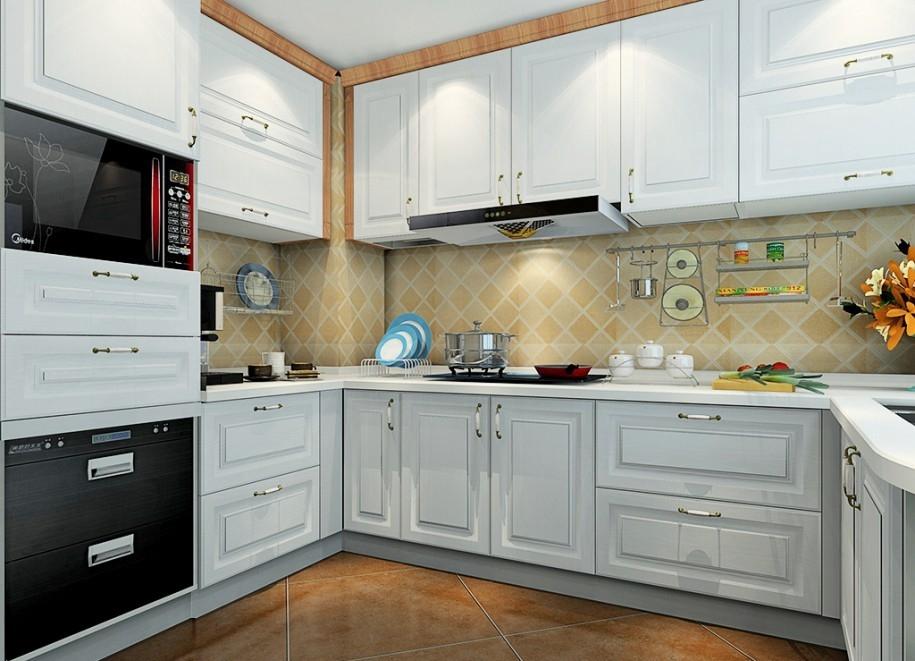 厨房壁橱新设计 马来西亚厨房壁橱新设计 厨房壁橱 3D设计图