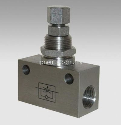 S/S IN-LINE MICRO-FLOW-REG. SERIES RFLX