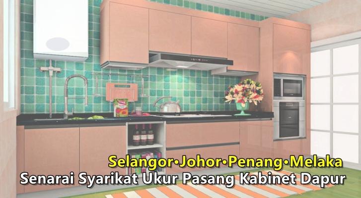 Malaysia Kitchen Cabinet Shop List