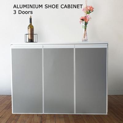 Aluminium shoe Cabinet 3 Doors Ь��-ȫ���Ͻ�