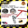 16mm Universal Magnetic Spark Plug Tool Hand Tool
