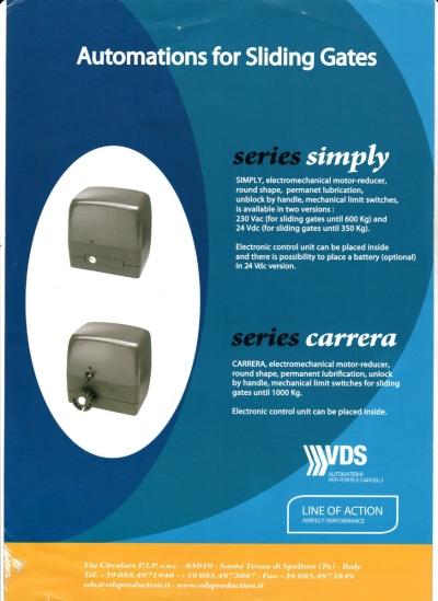 VDS Automatic Sliding Gates