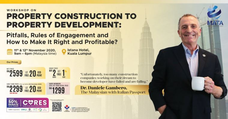Workshop on Property Construction to Property Development: Pitfalls, Rules of Engagement and How to