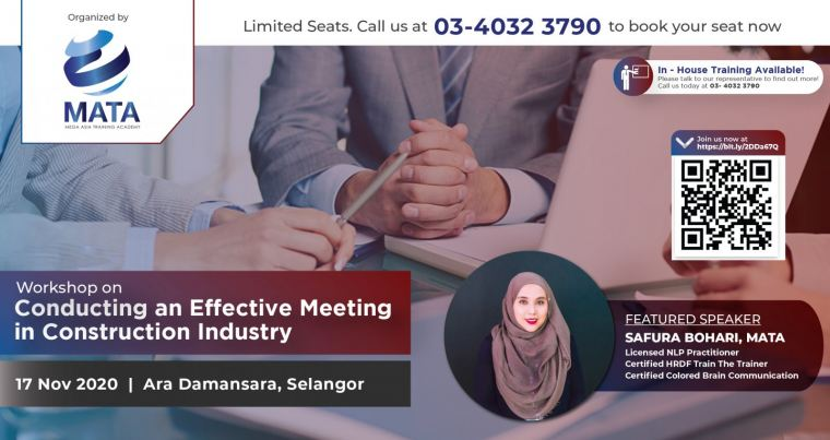 Workshop on Conducting an Effective Meeting in Construction Industry