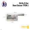 Shi Ba Zi Zuo Steel Cleaver Knife TP216-1 Knife Cutlery