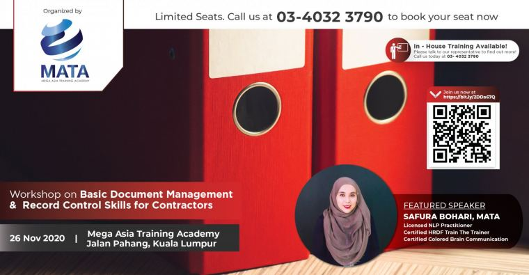 Workshop on Basic Document Management & Record Control Skills for Contractors