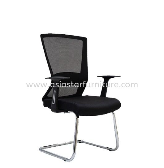 WILLY 1 VISITOR MESH BACK OFFICE CHAIR-mesh office chair segambut   mesh office chair kepong   mesh office chair menjalara
