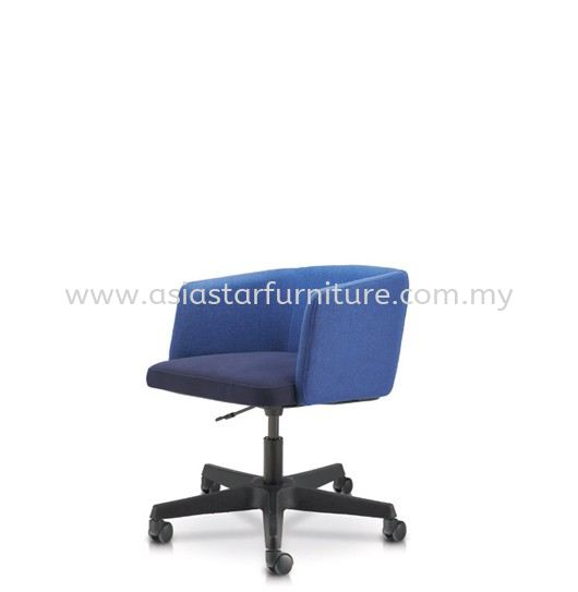 ANTHOM EXECUTIVE LOW BACK CHAIR C/W POLYPROPYLENE BASE AT6632F-32