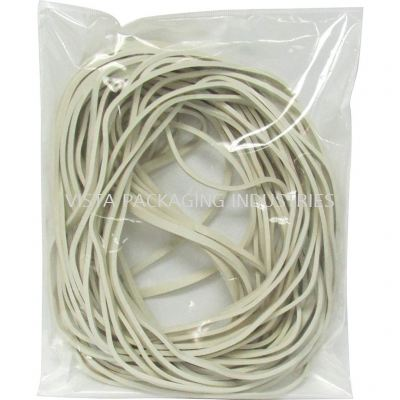 WHITE RUBBER BAND